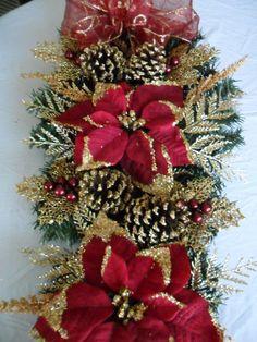 Colgante de Navidad en el arándano rojo y por ChristmasCraftsShop