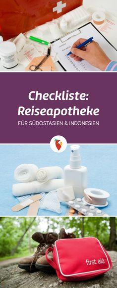 Welche Medikamente darf man mit ins Flugzeug nehmen und welche Gesundheitsrisiken gibt es in Indonesien und Südostasien - alle Infos & Tipps gibt es via Urlaubspiraten.de