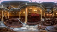 Inside the Incredible Effort to Recreate Historic Jewish Sites Destroyed Years Ago The digital venture, called Diarna, takes you back to painstakingly revived synagogues and destinations once lost to history Jewish History, Oral History, Travel Magazines, Police Station, Interactive Map, North Africa, Effort, Old Things, The Incredibles