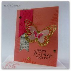 Golden Butterfly - Be Creative With Nicole