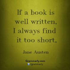 Jane Austen ~ A good book donated to a chemo center can heal in many ways.