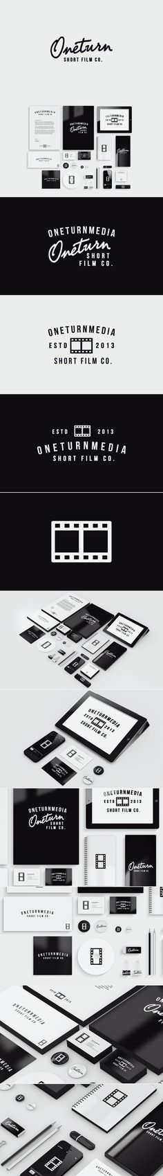 OneTurnMedia #Corporate #Identity #Stationery #Graphic #Design