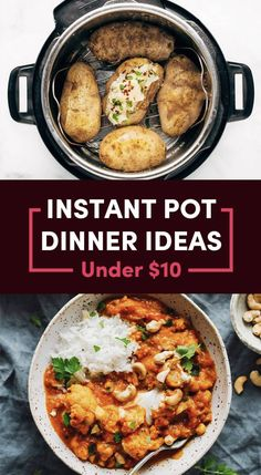 Dinner Recipes vegetarian 20 Budget Instant Pot Dinners That Don't Take Forever To Make 20 Cheap And Easy Instant Pot Recipes Cheap Instant Pot, Pots, Queso Fresco, Instant Pot Dinner Recipes, Instant Pot Pasta Recipe, One Pot Pasta, Pressure Cooker Recipes, Pressure Cooking, Slow Cooker