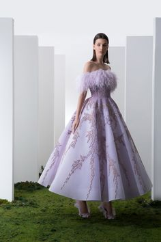 Saiid Kobeisy - Couture, La Magie Sauvage - Look 20 Gala Dresses, Ball Gown Dresses, Couture Dresses, Fashion Dresses, Fancy Wedding Dresses, Elegant Dresses, Pretty Dresses, Beautiful Gowns, Dream Dress