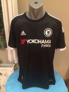 CHELSEA FC Football Shirt 2015 16 3rd Kit Trikot Soccer Jersey Camiseta  Maillot  adidas 0d1800652
