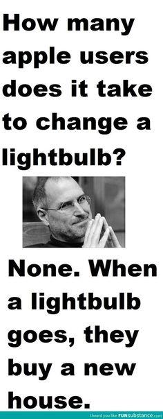 Apple users