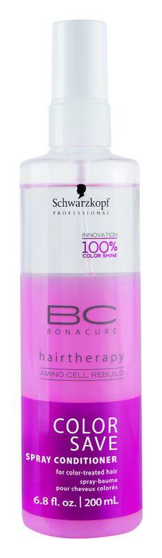 schwarzkopf bc bonacure color save spray conditioner 68 oz 200 ml leave in - Igora Coloration