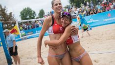 Canadians' beach volleyball fate out of their own hands Latest Sports News, Beach Volleyball, Hands, Hamburg