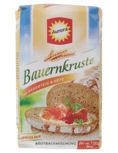 Aurora Bauernkruste Brotbackmischung - http://back-dein-brot-selber.de/backmischungen/aurora-bauernkruste-brotbackmischung/