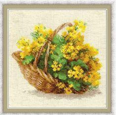 Cross Stitch Kit By Riolis Yellow Rapeseed by ArtfulStitchings