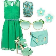 Зелененькое