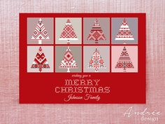 Shop for on Etsy, the place to express your creativity through the buying and selling of handmade and vintage goods. Johnson Family, Christmas Cards, Holiday Decor, Unique Jewelry, Handmade Gifts, How To Make, Etsy, Design, Christmas E Cards