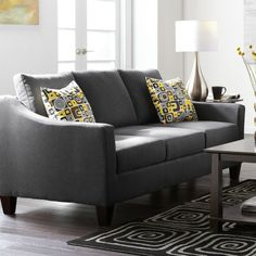 'Sloan' Sofa In Almond and Mocha Sectional Sofa, Sofas, Couches, Online Furniture, Home Furniture, Canada Shopping, Mattress, Love Seat, New Homes