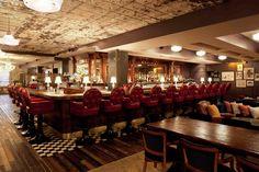 Club bar // Soho House New York
