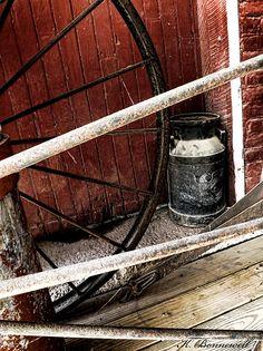 Title  Wheels Of Time   Artist  Kristie Bonnewell   Medium  Photograph - Photography/digital Manipulation