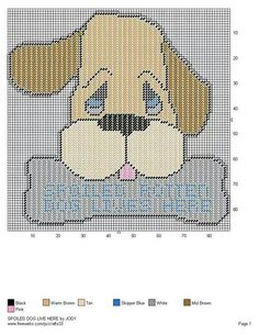 SPOILED DOG LIVES HERE by JODY -- WALL HANGING