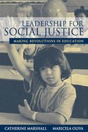 Leadership for social justice: making revolutions in education. ED/37.03/LEA