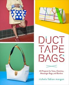 What if a designer handbag were as easy to craft as a duct tape wallet? Well, now it is with this easy-to-follow guide to making 40 handbags so fashionable, you won't actually believe they're made of