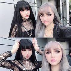 💽doing fine fine. Hot Goth Girls, Gothic Girls, Asian Cute, Cute Asian Girls, Goth Beauty, Dark Beauty, Witch Fashion, Gothic Fashion, Fachion Girl
