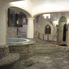 a glimpse at our #wellness area #Jacuzzi #sauna