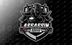 Here we have a strong, eye-catching, awesome and powerful assassin esports logo for sale that will fit well in any eSports team, assassin mascot Assassin Logo, Assassin Game, Esports Logo, Mobile Logo, Game Logo Design, Sports Team Logos, Hobbies For Kids, E Sport, Ninja Warrior