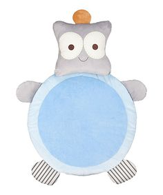 Look what I found on #zulily! Lolli Living Blue Robot Playmat by Lolli Living #zulilyfinds
