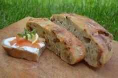 Fotorecept: Chlieb pečený so škvarkami