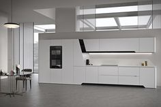 Snaidero USA provides the American market with the finest in Italian modern luxury kitchen designs, created by the world's foremost architects and designers. Bespoke Kitchens, Luxury Kitchens, Modern Kitchens, Kitchen Furniture, Kitchen Interior, Kitchen Decor, Small Farmhouse Kitchen, White Wood Kitchens, Freestanding Kitchen