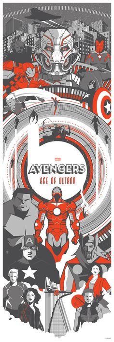 """The Avengers: Age of Ultron"" Variant by Marinko Milosevski"