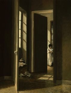 Anne-Françoise Couloumy (French, born 1961) 'Les chambres de Bastennes'