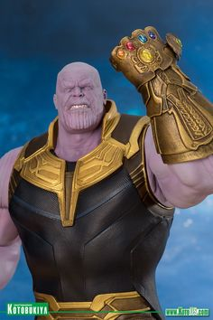 A new Kotobukiya statue of Thanos from his appearance in Avengers: Infinity War is coming our way in November, and it looks awesome!