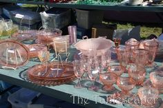Love Pink Depression glass :)