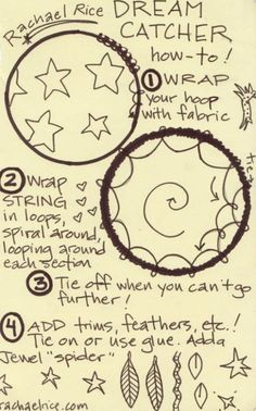 DIY Dreamcatcher Rachel Rice
