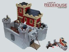 bulls head castle | lego and lego castle