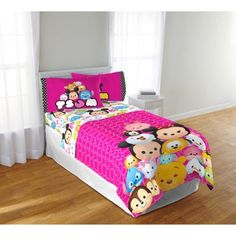 Disney Tsum Tsum Twin Sheet Set - Walmart.com