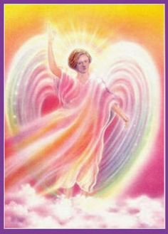 ∆ Archangel Chamuel...Name means: He who sees God or He who seeks God  Angel of Peace, Comfort and Love