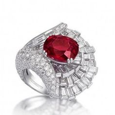 Tips for Buying Diamond Rings and Other Fine Diamond Jewelry Ruby Jewelry, Jewelry For Her, Diamond Jewelry, Fine Jewelry, Unique Jewelry, Diamond Rings, Gemstone Rings, Valentines Jewelry, Jewelry Trends
