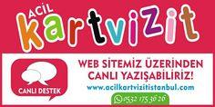 Acil Kartvizit ihtiyaçlarınızda yanınızdayız! http://www.acilkartvizitistanbul.com #acilkartvizit
