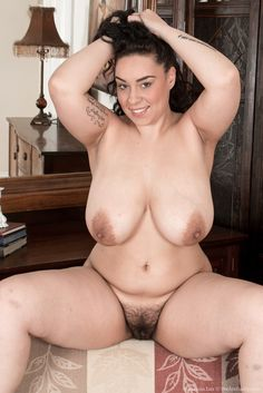 Busty curvy hairy pussy something