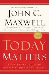 Today Matters 12 Daily Practices to Guarantee Tomorrow's Success by John C. Maxwell The greater part of us take a gander at our days in the wrong way: We misrepresent yesterday. We overestimate tomorrow. We think little of today. Truly the most vital day you will ever experience is today. Today is the way to your prosperity. Maxwell offers 12 choices and controls he calls it his day by day dozen-that can be learned and aced by any individual to make progress. Download Today Matters eBook by…