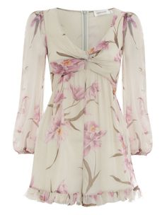 85ae309276c45 Zimmermann Corsage Knot Playsuit. Product Image. Short Outfits, Short  Dresses, Summer Dresses