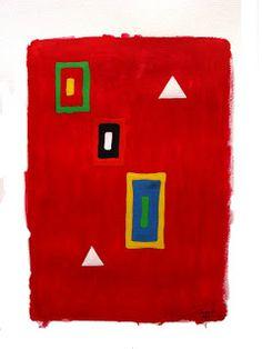 coisas de pintura: acrílico sobre papel - 2011