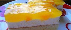 Recept Mandarinkové řezy se zakysanou smetanou Canning Soup, Pizza Cat, Czech Recipes, Hot Chocolate, Fries, Cabbage, Cheesecake, Pudding, Homemade