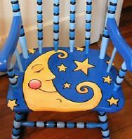 Hand painted furniture by Laura