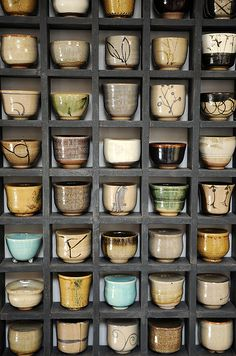 Saki Cups by Betsy Williams. JustinDawson (photographer), via Flickr.