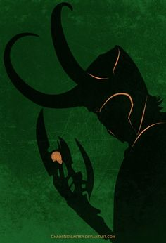 Neat Loki fan art poster - The God of Mischief by - ChaosNDisaster
