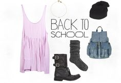 """Back to School"" by mileywardrobe ❤ liked on Polyvore"