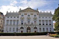 palais-trautson-vienna- JB Fischer von Erlach 1710