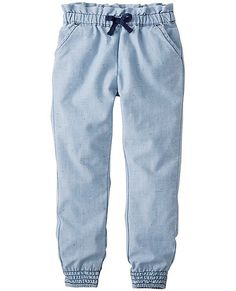 So Soft Chambray Pants from #HannaAndersson.