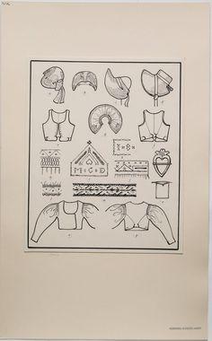 Swedish Fashion, Folk Fashion, Scandinavian Festival, Folk Costume, Costumes, Pattern Art, Art Patterns, Christmas Gnome, Pattern Making
